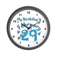 February 29th Birthday Wall Clock
