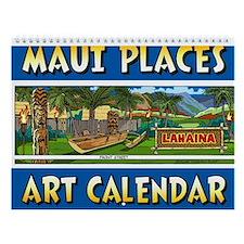 Maui's Hawaiian Calender Wall Calendar