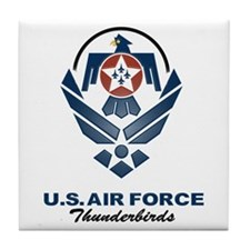 USAF Thunderbirds Diamond Tile Coaster