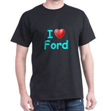 I Love Ford (Lt Blue) T-Shirt