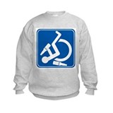 Wheelie Wasted! Sweatshirt