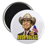 "Bush Rocks! 2.25"" Magnet (10 pack)"