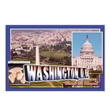 Washington, D.C. Postcards (Package of 8)