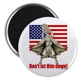 "Don't let him down! 2.25"" Magnet (10 pack)"