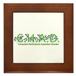 Horticultural Acquisition Framed Tile