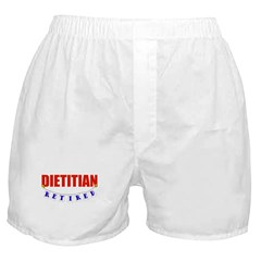 Retired Dietitian Boxer Shorts