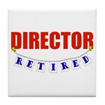 Retired Director Tile Coaster