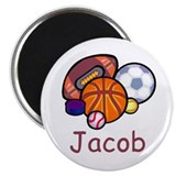 "Jacob 2.25"" Magnet (10 pack)"