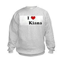 I Love         Kiana Jumpers