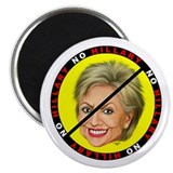 "No Hillary 2.25"" Magnet (100 pack)"