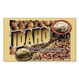 Idaho Rectangle Decal