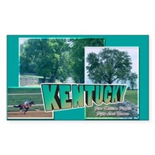 Kentucky Rectangle Decal
