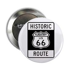 "Flagstaff, Arizona Historic R 2.25"" Button"