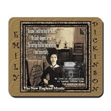 Emily Dickinson - Mousepad