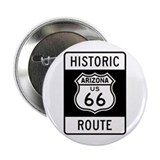 "Arizona Historic Route 66 2.25"" Button (10 pack)"