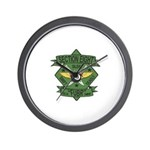 Section Eight Wall Clock