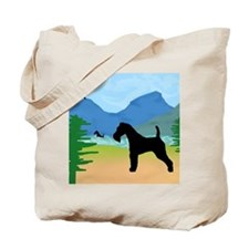 Wild River Wire Fox Terrier Tote Bag