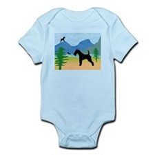 Wild River Wire Fox Terrier Infant Bodysuit