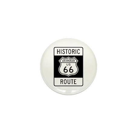 Los Angeles Historic Route 66 Mini Button