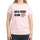 Off Duty Data Entry Clerk T-Shirt