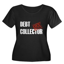Off Duty Debt Collector Women's Plus Size Scoop Ne