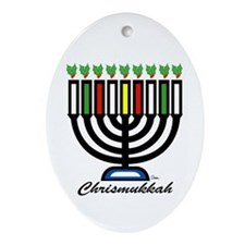 Chrismukkah Keepsake (Oval)