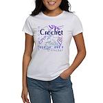Crochet Purple Women's T-Shirt