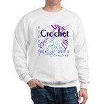 Crochet Purple Sweatshirt