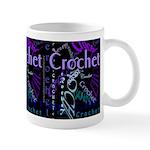 Crochet Purple Mug