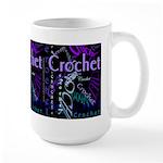 Crochet Purple Large Mug