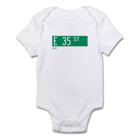 35th Street in NY Infant Bodysuit