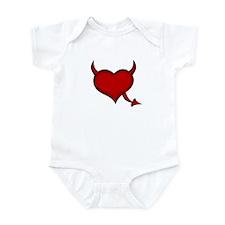 Devilish Heart Infant Bodysuit