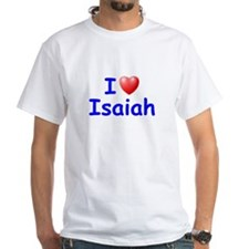 I Love Isaiah (Blue) Shirt