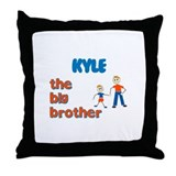 Kyle - The Big Brother  Throw Pillow