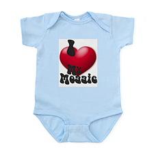 """I Love My Moggie!"" Infant Creeper"