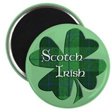 Scotch Irish Shamrock Magnet