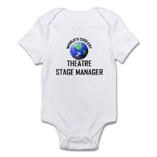 World's Coolest THEATRE STAGE MANAGER Infant Bodys