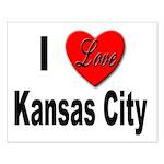 I Love Kansas City Small Poster