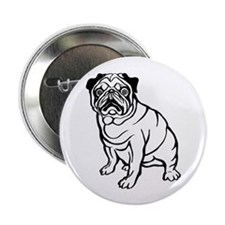 """Pug 2.25"""" Button (10 pack)"""