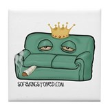 Sofa King Stoned Tile Coaster