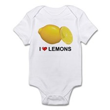 I Love Lemons Infant Bodysuit