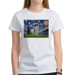 Starry Night /German Short Women's T-Shirt