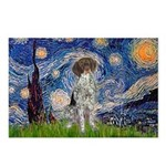 Starry Night /German Short Postcards (Package of 8