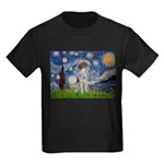 Starry Night /German Short Kids Dark T-Shirt