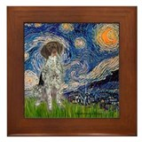 Starry Night /German Short Framed Tile