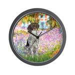 Garden/German Pointer Wall Clock