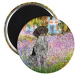 Garden/German Pointer Magnet