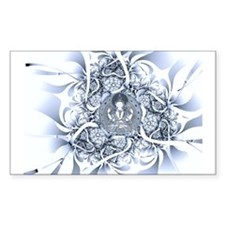 Lotus Buddha Rectangle Bumper Stickers
