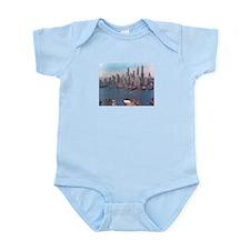 New York City Skyline 1948 Infant Bodysuit