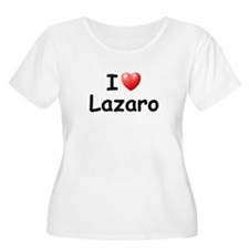 I Love Lazaro (Black) T-Shirt